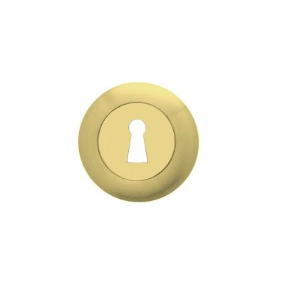 09003402-round-rosette-with-key-hole-borja-in-polish-matt-brass