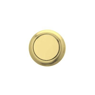 09021401-round-blind-rosette-in-polish-brass